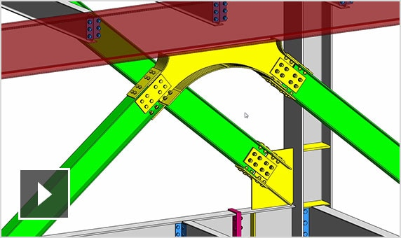 Steel connections with Revit