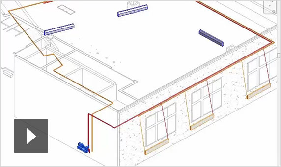 Video: Mechanical system network analysis in Revit