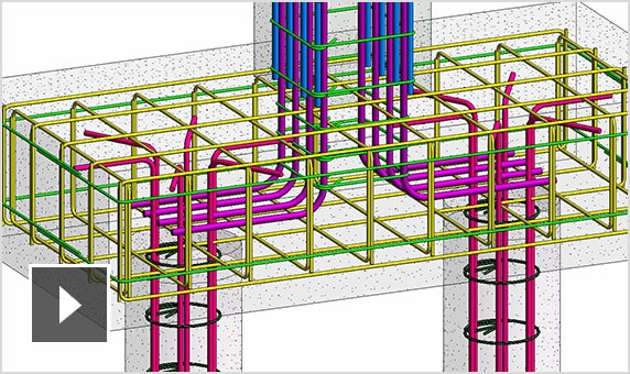 Edit rebar in Revit