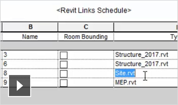 Video: Revit model groups and links