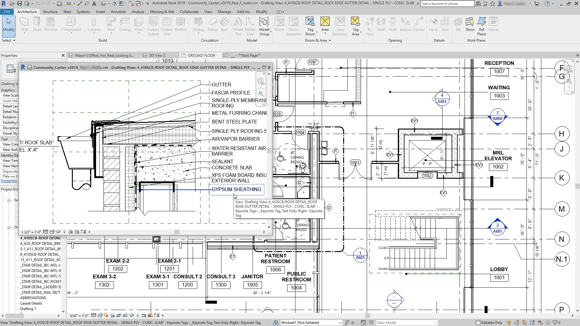 Bim Software Features Revit 2019 Autodesk Hvac Drawing Dwg Download Annotation