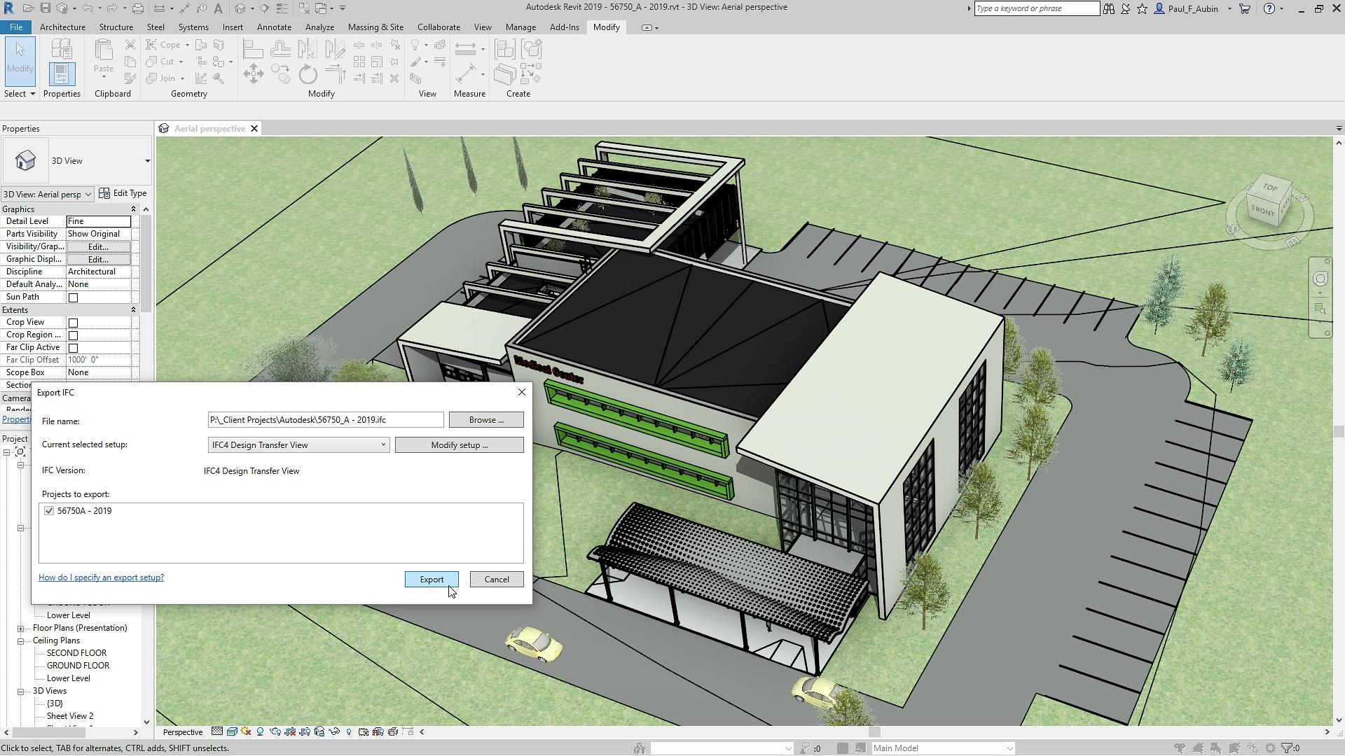 Características del software de BIM | Revit 2019 | Autodesk