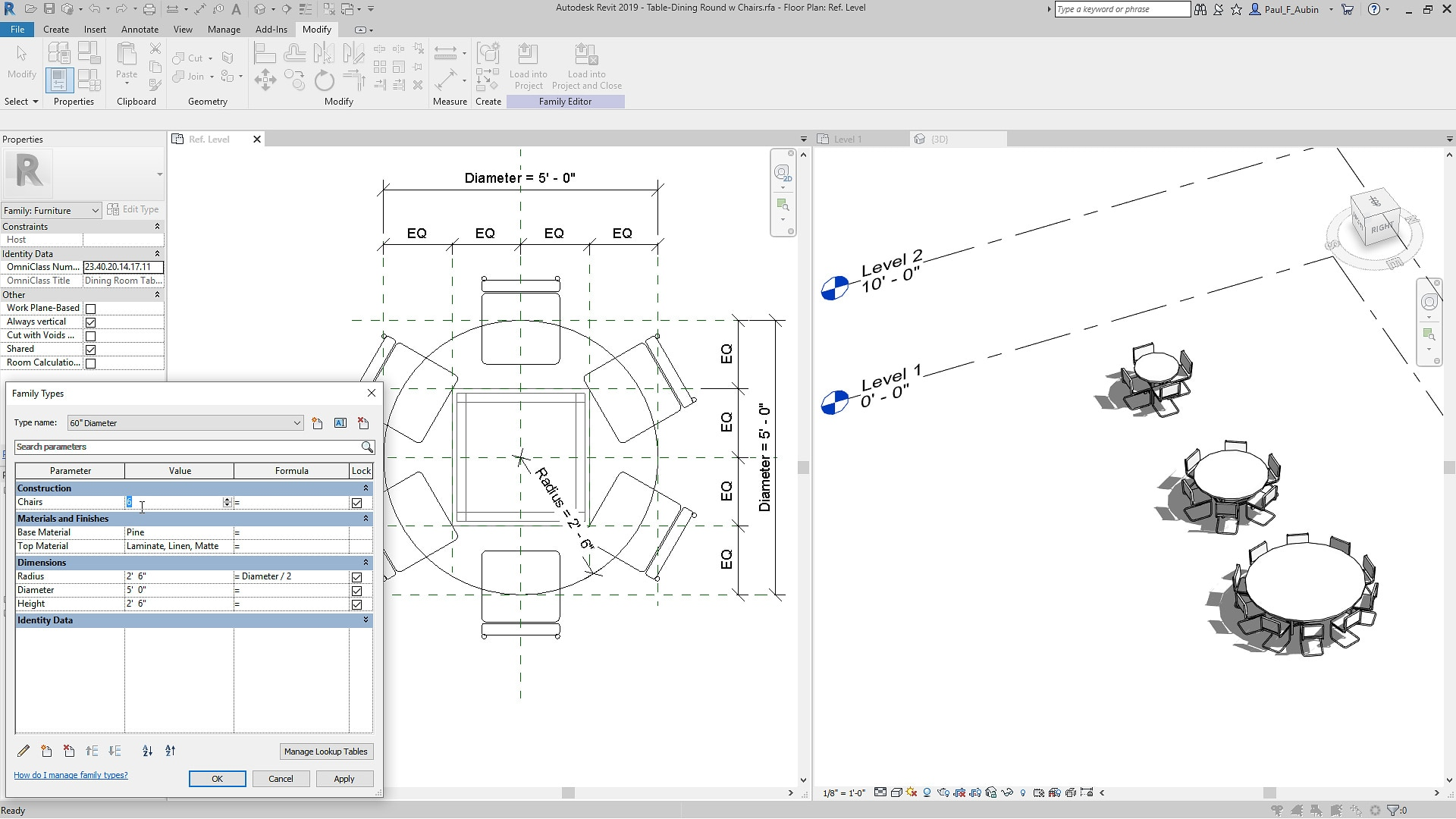 Bim Software Features Revit 2019 Autodesk Schematic Diagram Of Disk Dynamo Parametric Components