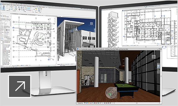 Video: Revit 2019 tabbed views extend to multiple monitors