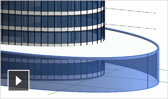 Video: Use the ellipse tool to extend your design development capabilities for wall forms