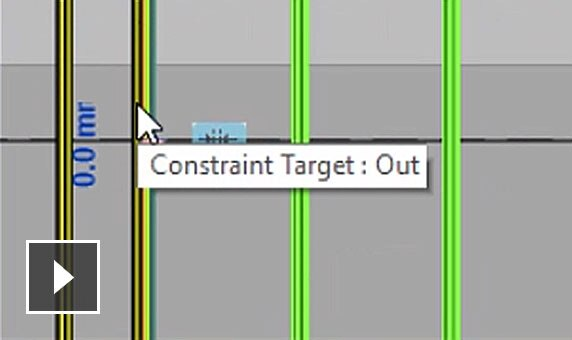 Video: Set and lock the geometry of each rebar instance to precisely place rebars and update them if designs change