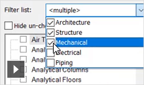 Video: use elevation in view filter in revit 2020
