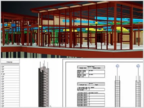 Revit construction model