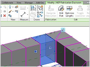Revit MEP fabrication