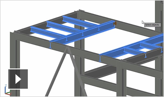 vidéo : Workflow de Revit et d'Advance Steel