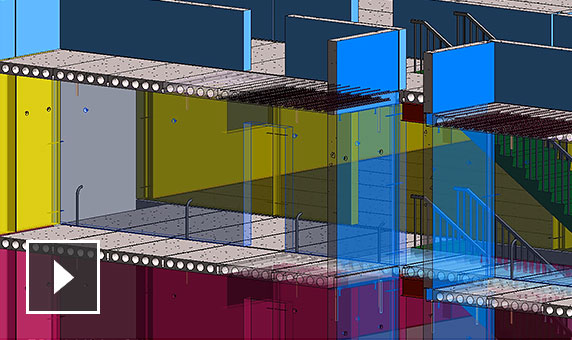Video: Work more productively with BIM workflows that help automate and connect concrete design and detailing to fabrication