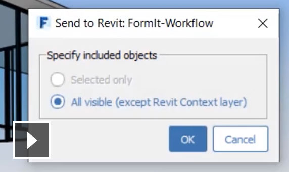 Video: Link Rhino files to Revit and work with Revit files in FormIt Pro