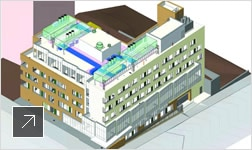 Wasa/Studio A used Revit to design a new wing of Bronx-Lebanon Hospital