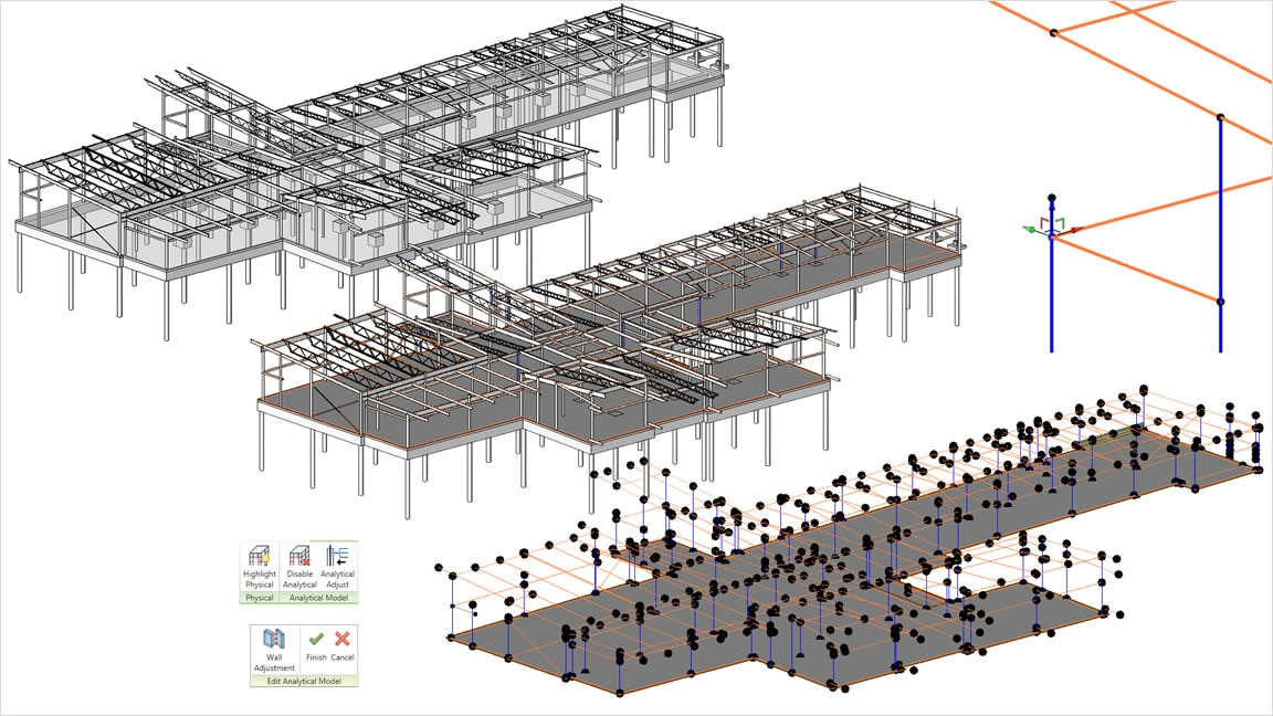 Building design construction revit family autodesk for Architecte structure
