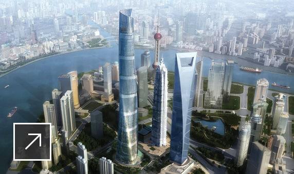 Przykładowe wdrożenie u klienta Shanghai Tower