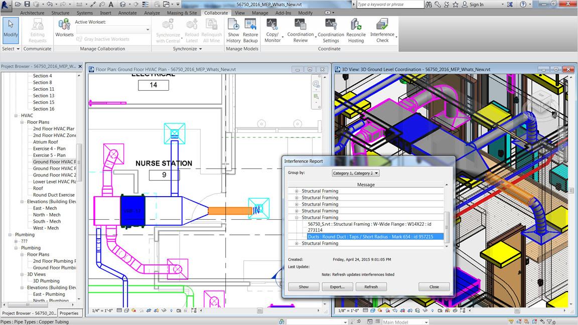 Vyšší efektivita navrhování díky vytváření a přenosu hodnot sklonu potrubí