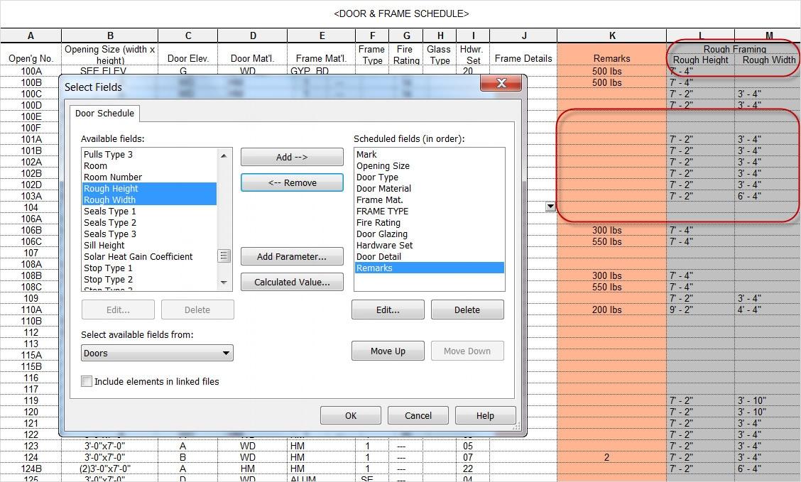 Skapa en tabellvy över din modellinformation