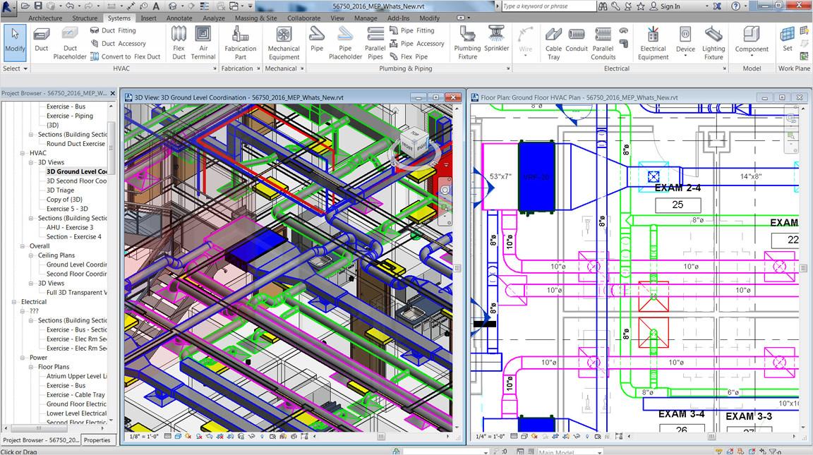 Conception et documentation HVAC | Revit Features