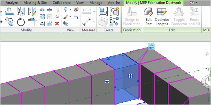 Revit MEP-Fertigung