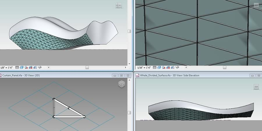 Explore ideas and perform early analyses, using Revit to create masses