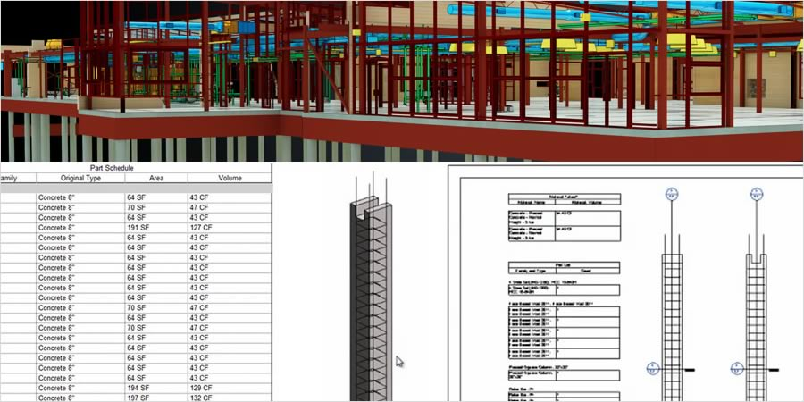 Revit — model konstrukcji