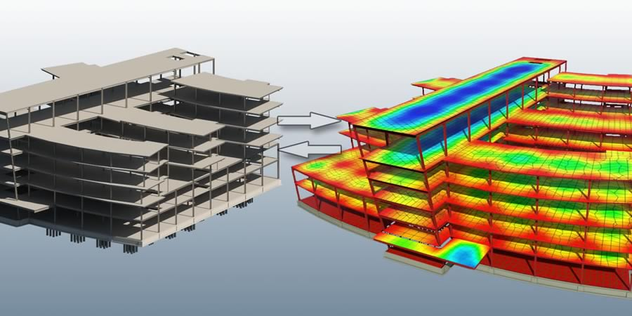 Revit offers bidirectional links and multiple analysis packages features.