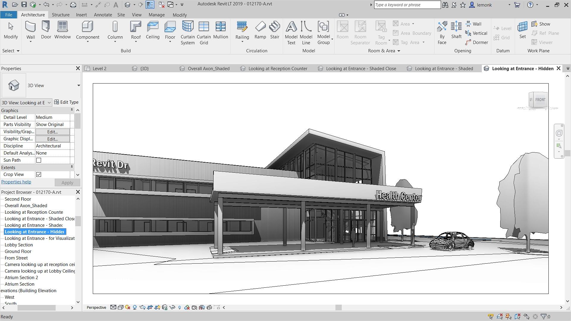 3D Architectural Design Software Features   Revit LT   Autodesk