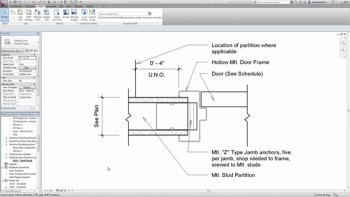 Documentation of a mechanical room