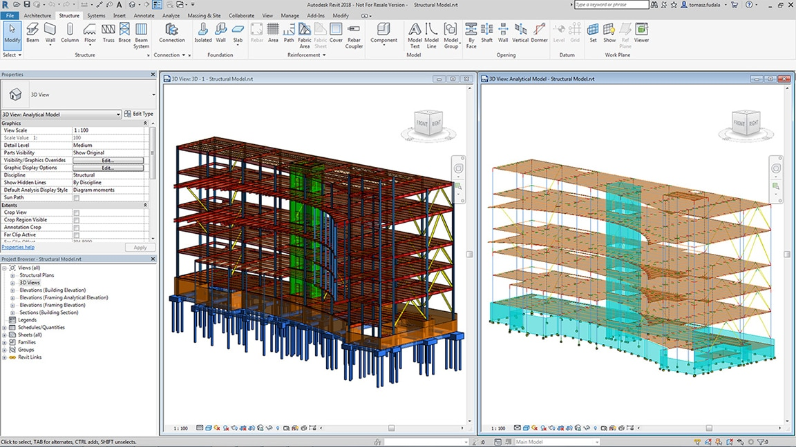 Robot Structural Analysis Professional Software Autodesk