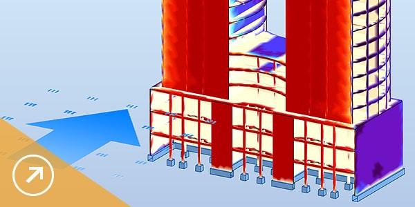Perform simulation on wind