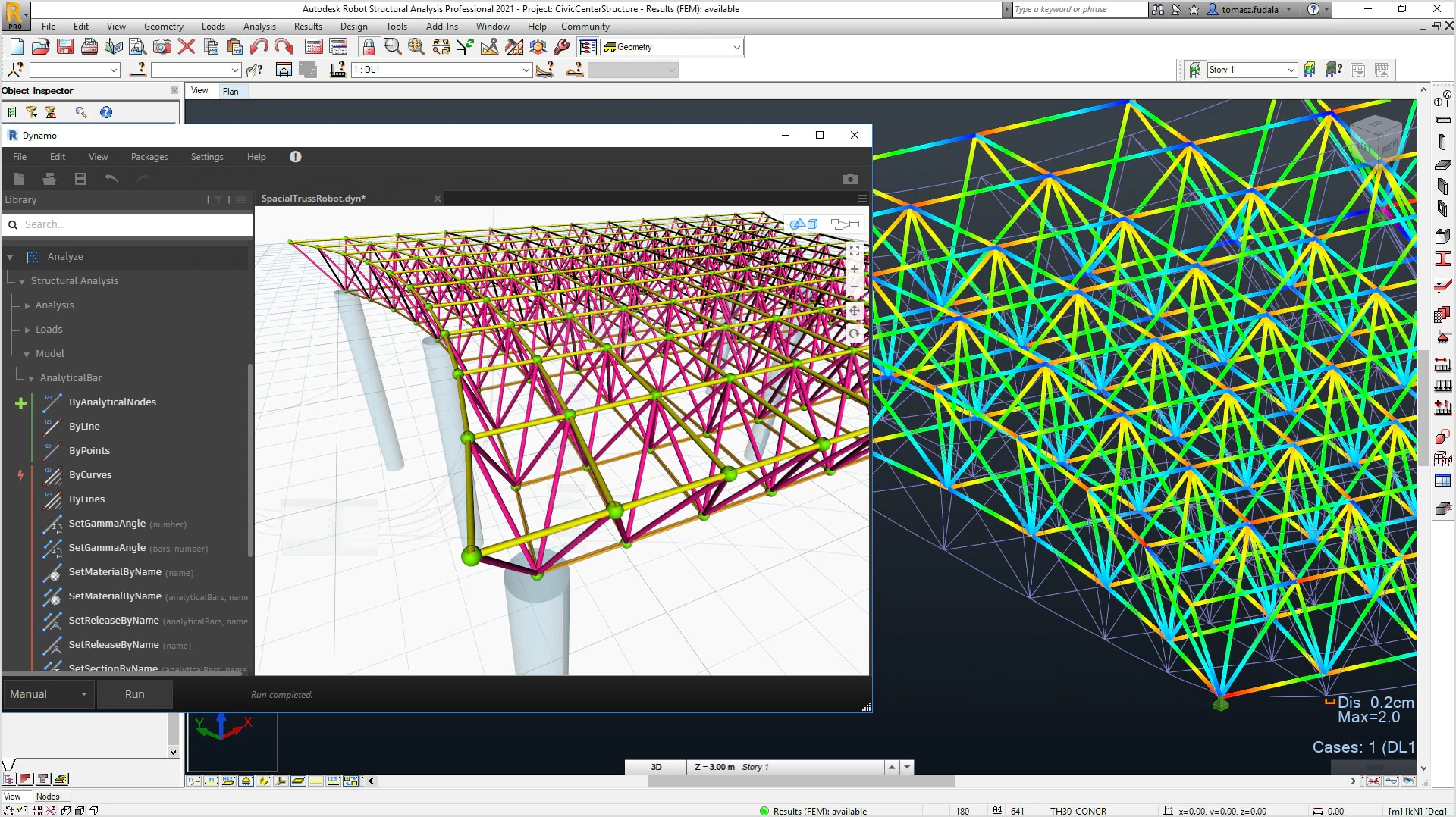 Autodesk Robot Structural Analysis Professional 2020 For Sale
