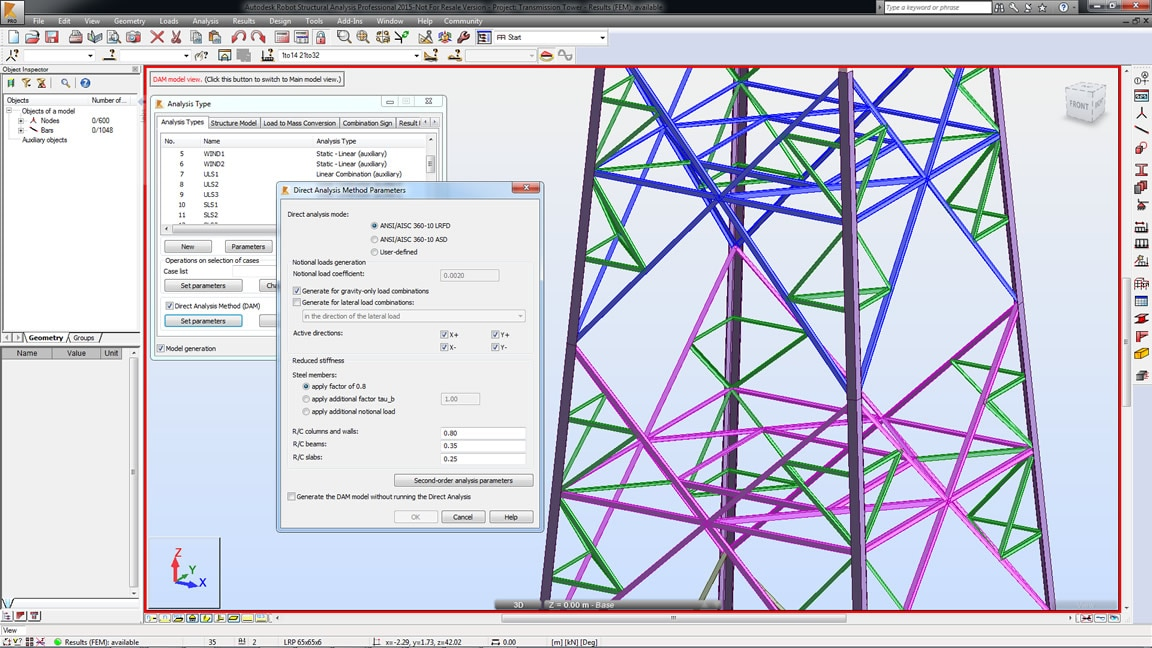 Structural Analysis Software | Robot Structural Analysis