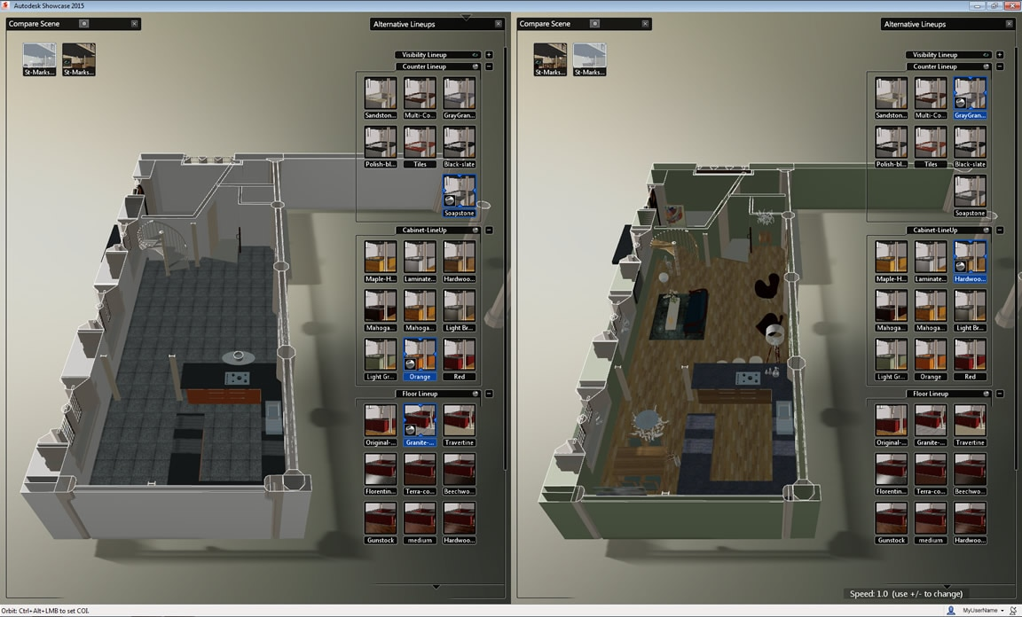3d visualization 3d presentation software showcase Home modeling software