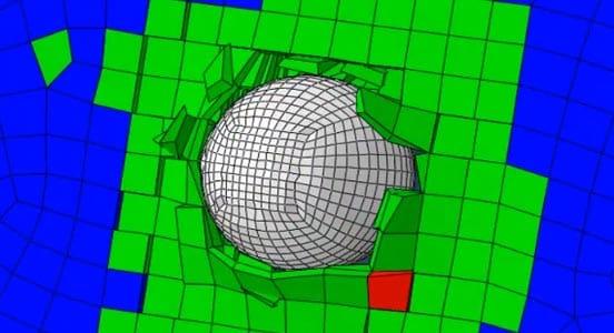 Composite Material Simulation