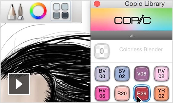 Copic Color Library