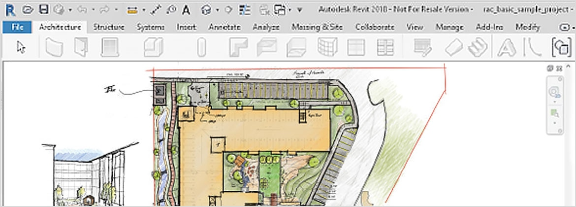 Pair SketchBook with Revit