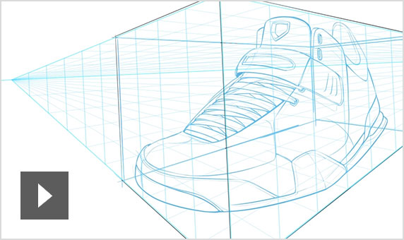 Video: Overview of perspective guides on SketchBook for mobile devices