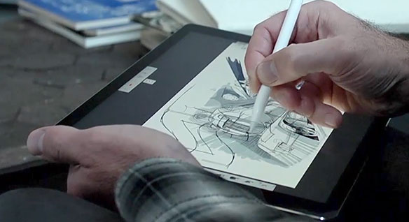 Video: Jay Shuster's path to becoming a Pixar designer and his use of SketchBook to invent new designs