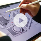 Video: How designers and artists are using SketchBook on mobile and desktop devices
