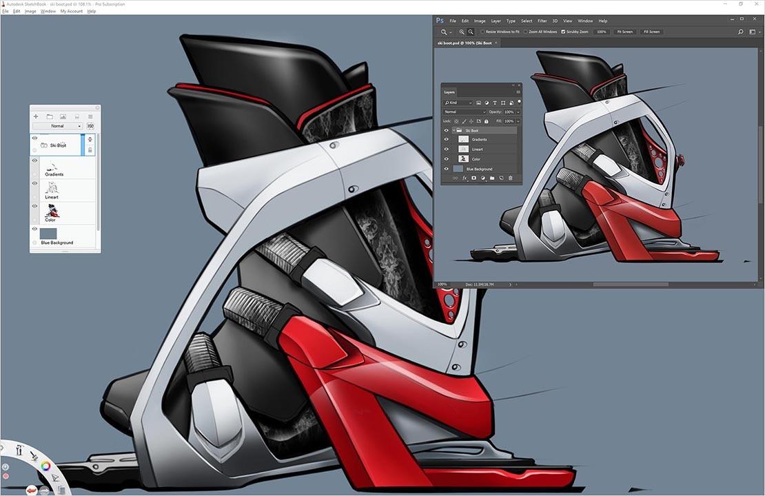 Drawing amp Sketching Software SketchBook Autodesk