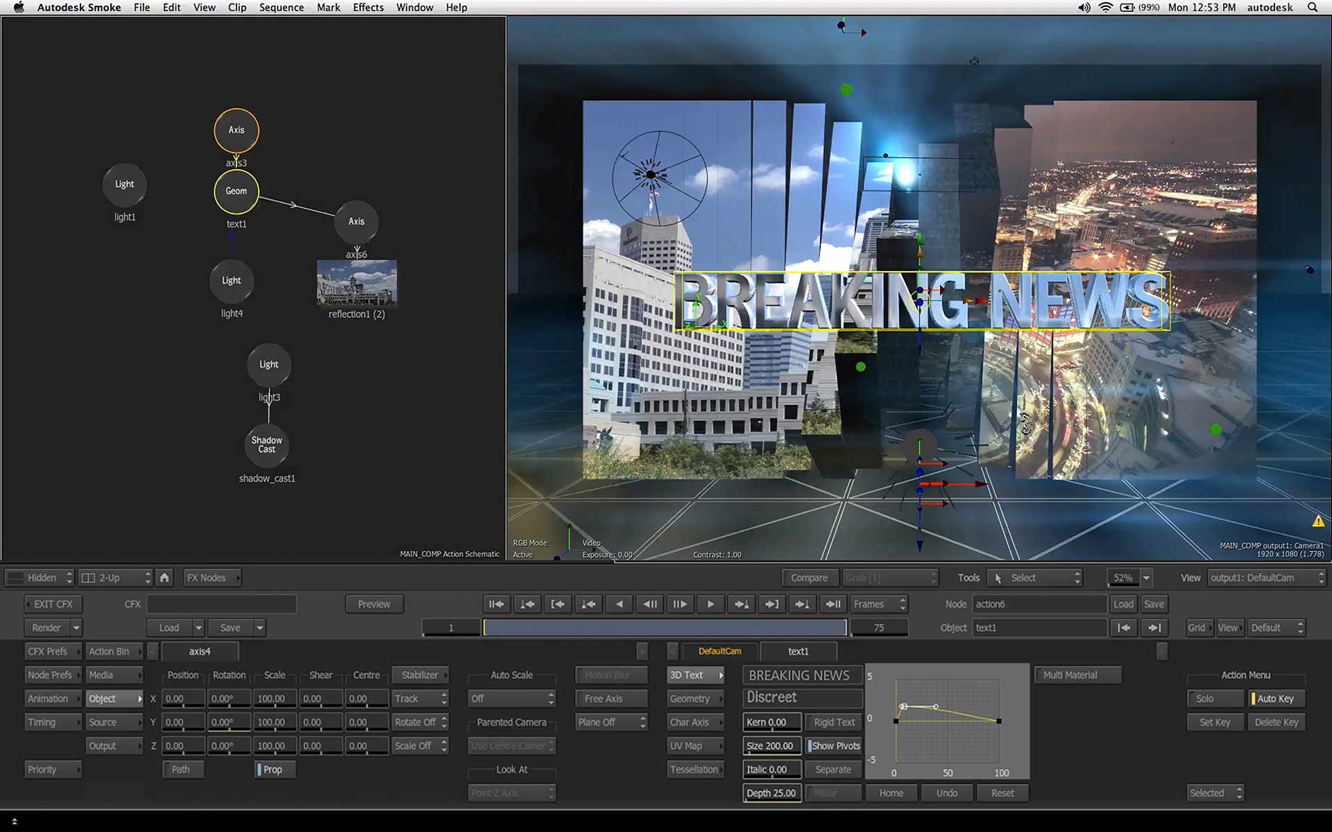Professional Video Effects Software | Smoke | Autodesk