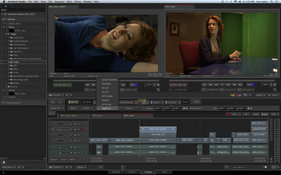 Video effects features smoke autodesk for Software per rendering