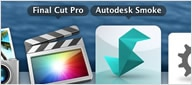 Compatible with Apple hardware, Final Cut Pro X, and Blackmagic Design card
