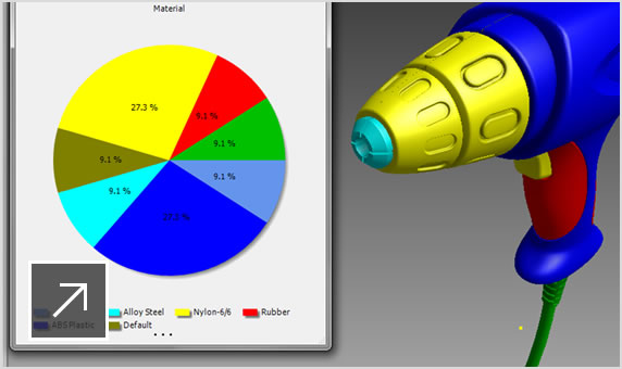 Vault PDM software works with Inventor 3D CAD