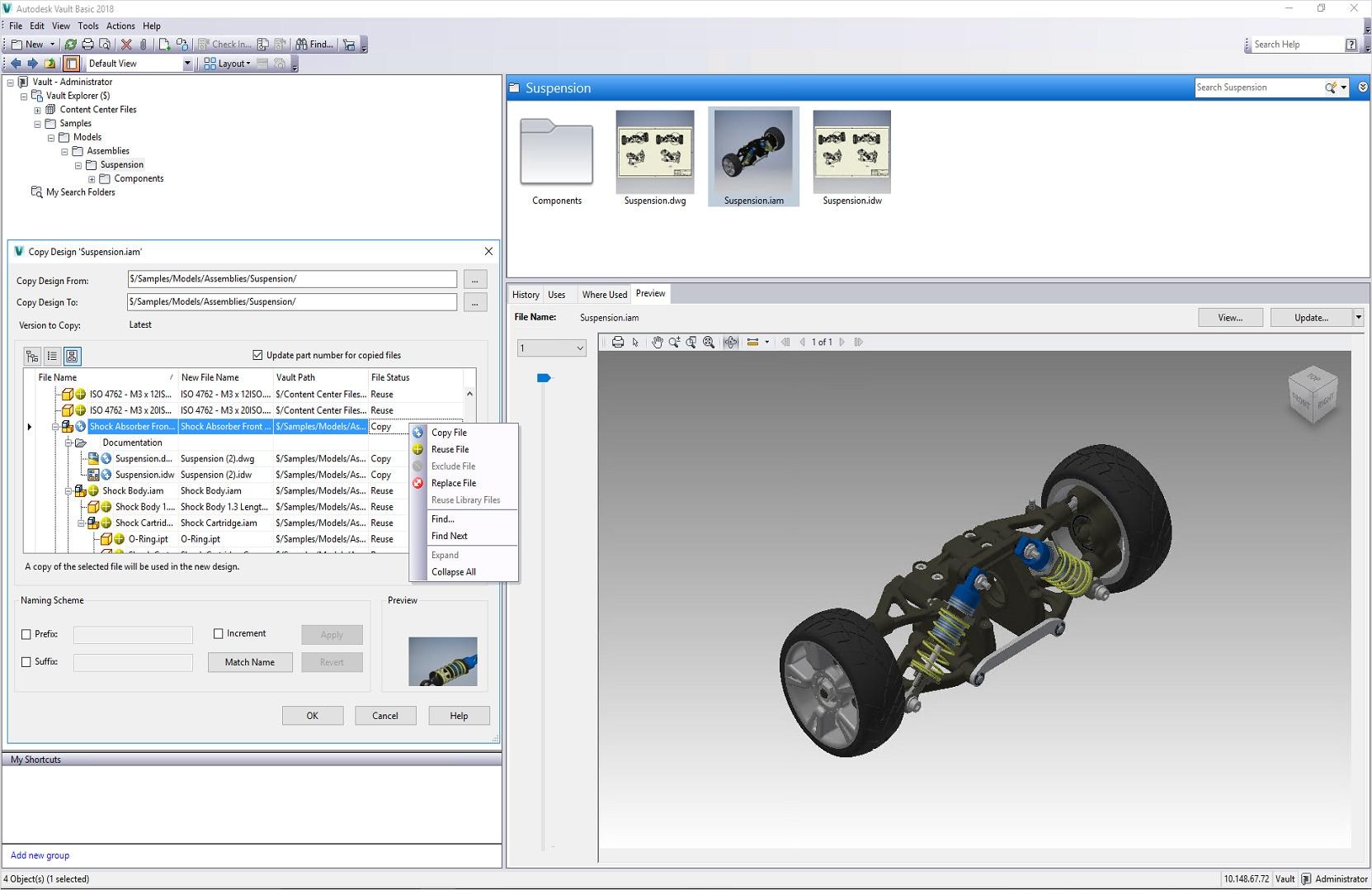 Vault Cad Data Management Software Autodesk