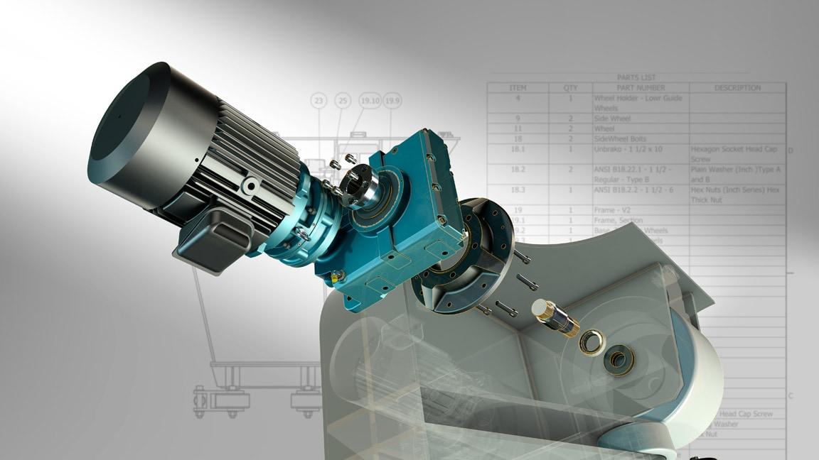 Evite a inserção manual repetitiva de projetos de CAD e de dados de lista de materiais
