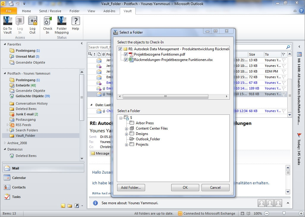 Vault PDM solutions are compatible with Windows, IE and MS SQL.