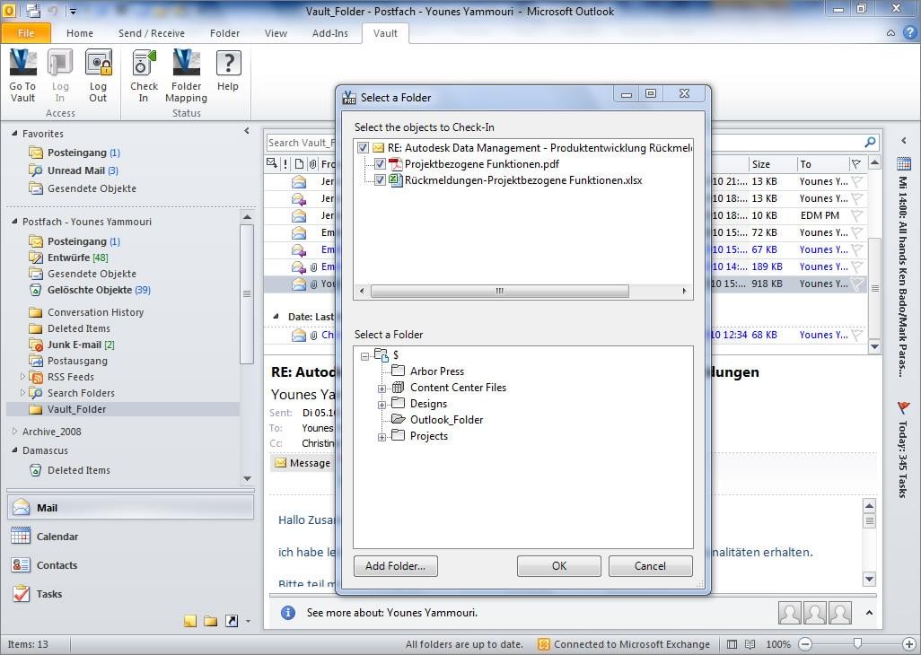 Les solutions de GDT Vault sont compatibles avec Windows, Internet Explorer et MS SQL.