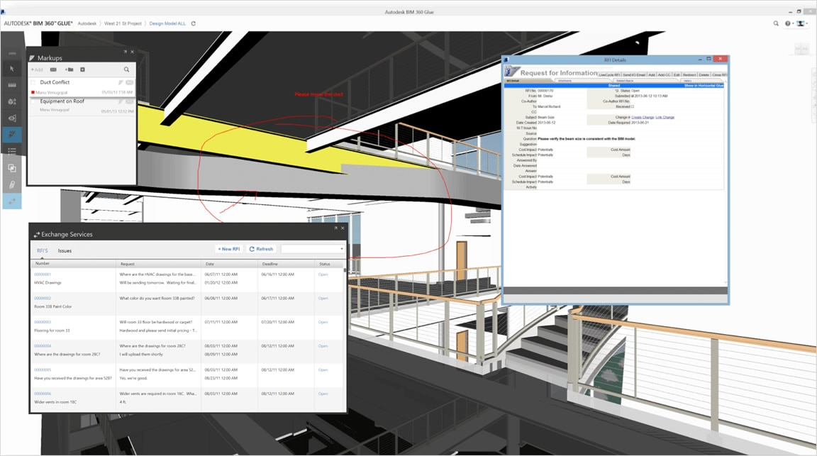 Bim Construction Coordination Bim 360 Glue Autodesk