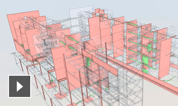 Video: Technical overview of model co-ordination in BIM Collaborate